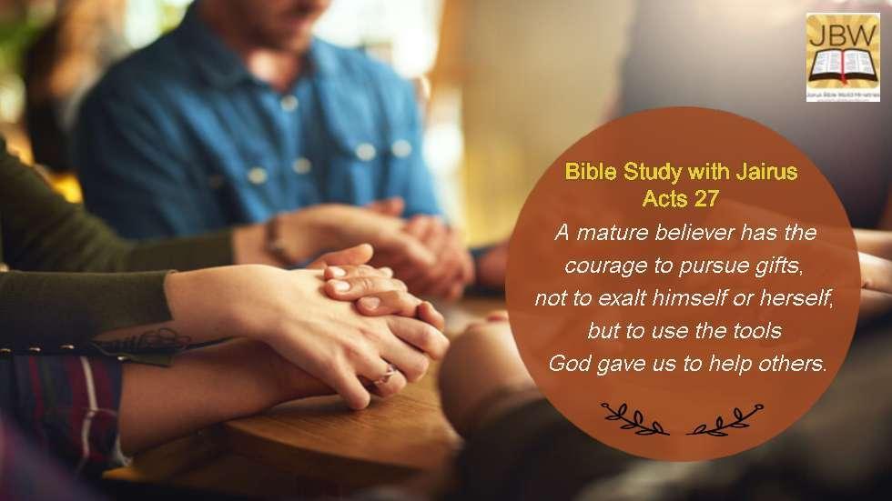 睚鲁的圣经世界-使徒行传27