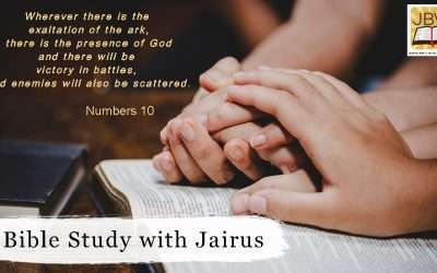 Bible Study with Jairus – Numbers 10
