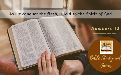 Bible Study with Jairus-Numbers 12