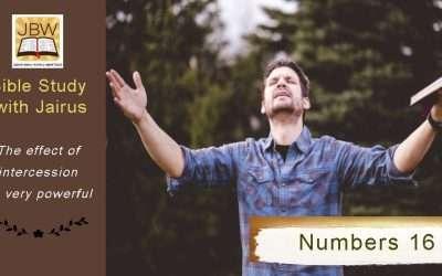 睚鲁的圣经世界-民数记16