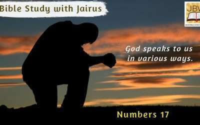 Bible Study with Jairus –Numbers 17