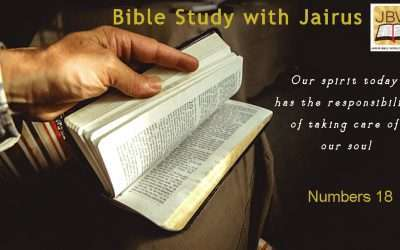 Bible Study with Jairus- Numbers 18