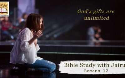 Bible Study with Jairus – Romans 12