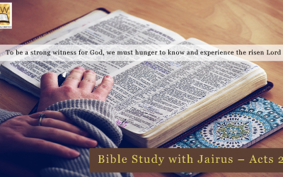 Bible Study with Jairus – Acts 26