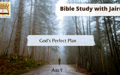 Bible Study with Jairus – Acts 9