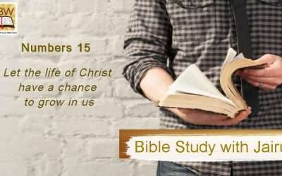Bible Study with Jairus – Numbers 15
