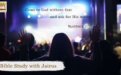 Bible Study with Jairus – Numbers 27