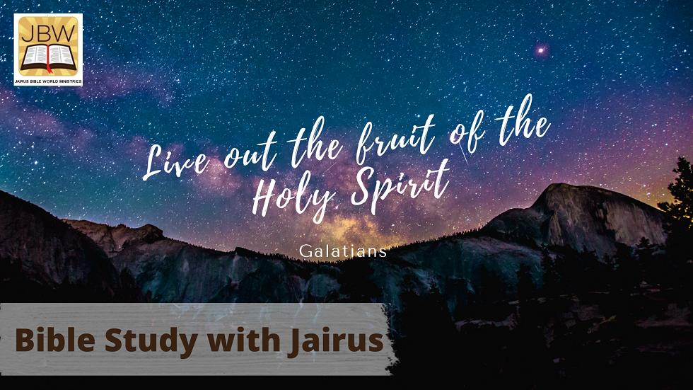 Bible Study with Jairus – Galatians