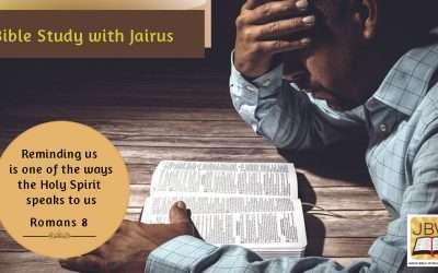 The Intercession of the Holy spirit  Bible Study with Jairus – Romans 8
