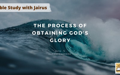 Bible Study with Jairus – Acts 5
